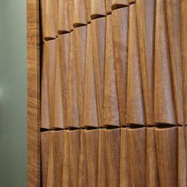 3д панели в гостиной комнате. Volume Form