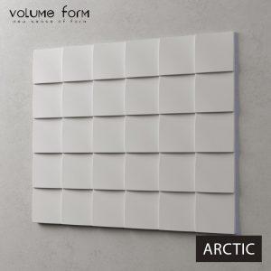 3д панели Arctic от Volume Form