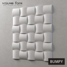 3д панели Bumpy от Volume Form