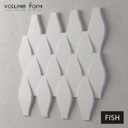 3д панели Fish от Volume Form