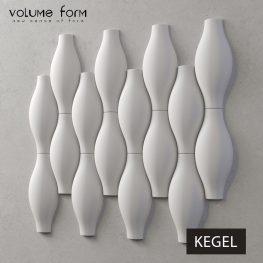 3д панели Kegel от Volume Form
