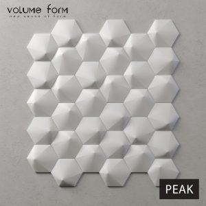 3д панели Peak от Volume Form