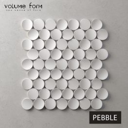 3д панели Pebble от Volume Form