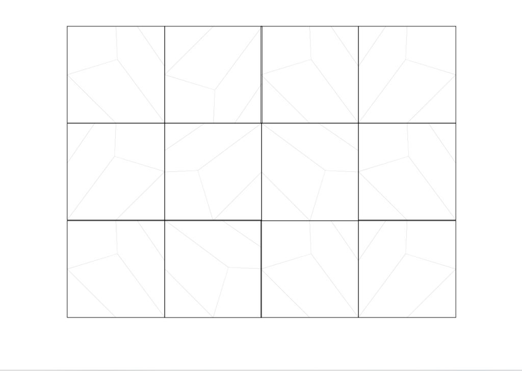 Расклади 3д панелей STONE
