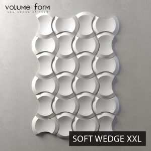 3д панели Soft Wedge от Volume Form