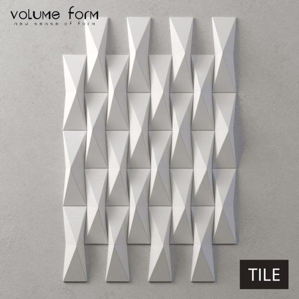 3д панели Tile от Volume Form