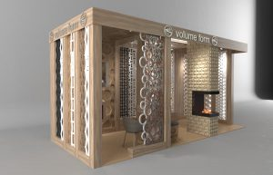 Франшиза салона 3д панелей, межкомнатных перегородок, и реечных потолков VOLUME FORM.