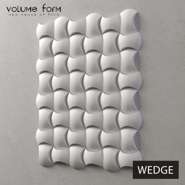 3д панели Wedge Eco от Volume Form