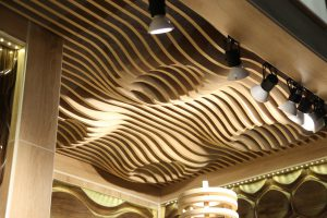 Реечный потолок Volume Form с импульсом