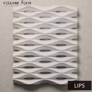 3д панели WOOL от Volume form