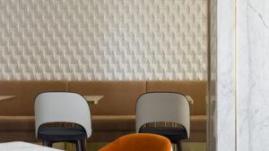 3д панели volume form в проекте Lotte Hotel Самара