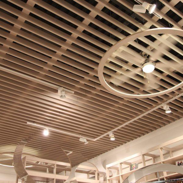 Реечные потолки 100мм