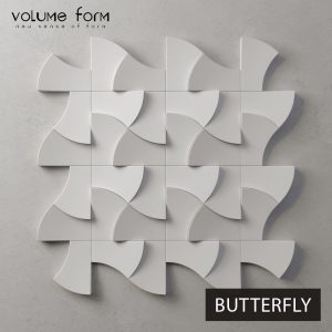 3д панели Butterfly от Volume Form