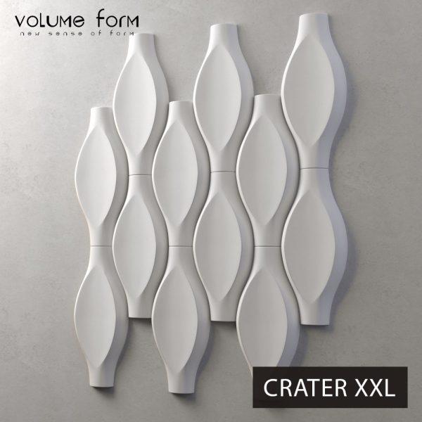 3д панели Crater XXL от Volume Form