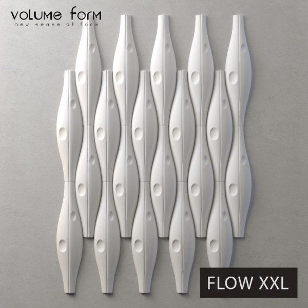 3д панели Flow Eco от Volume Form