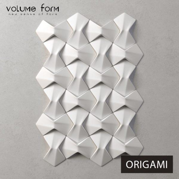 3д панели Origami Eco от Volume Form