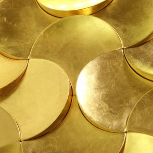 Премиальные 3д панели Petal GOLD