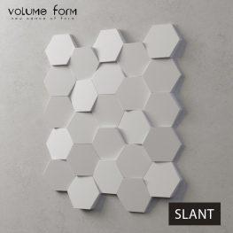 3д панели Slant от Volume Form