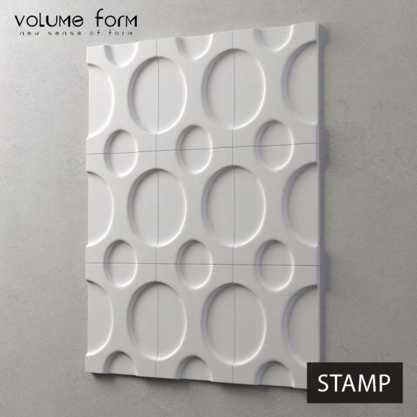 3д панели Stamp Eco от Volume Form