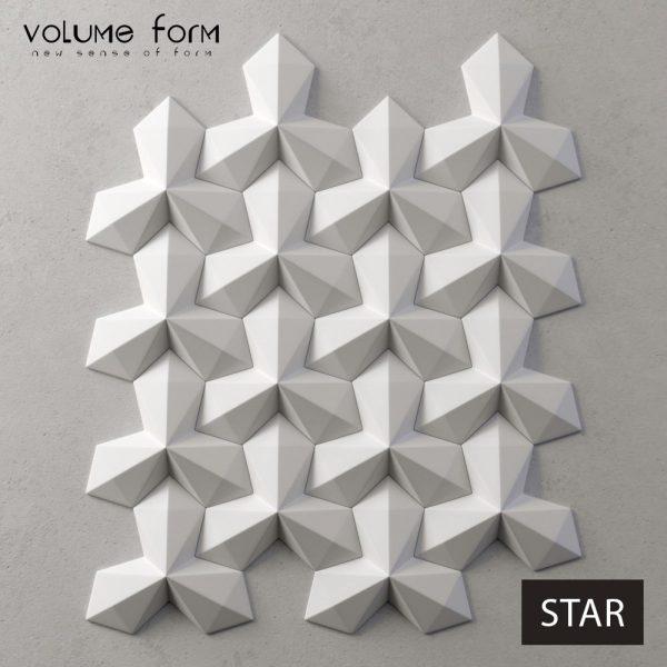 3д панели Star от Volume Form