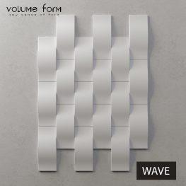3д панели Wave от Volume Form