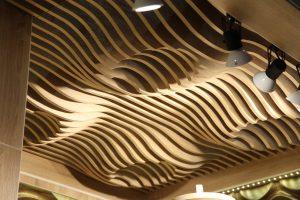 Реечный потолок Volume Form